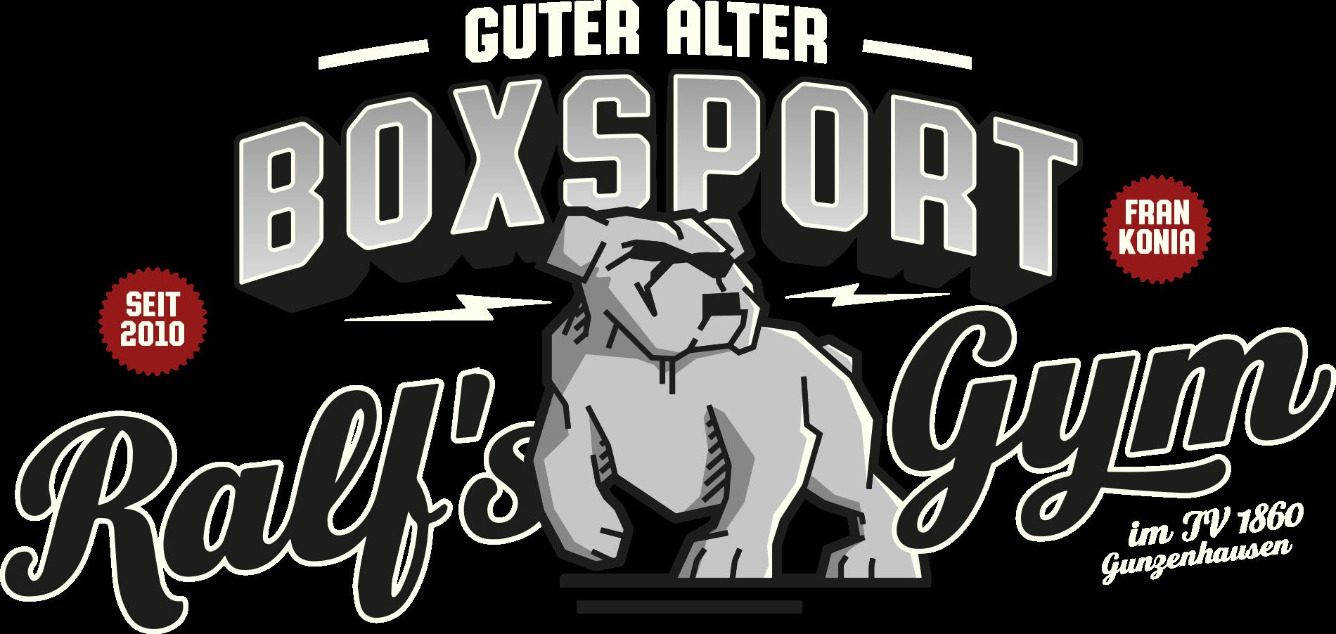 Logo Ralf's Gym ist ein Boxstall alter Schule – so wie es sich gehört. Boxen Gunzenhausen
